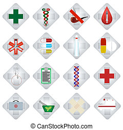 Set of medical icons-2
