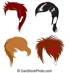 men hair styling