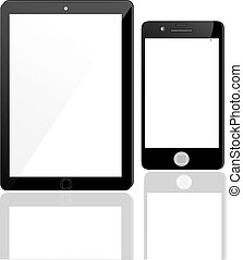 Set of Modern Digital devices. Vector EPS10