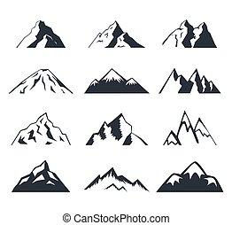 Set of mountains.