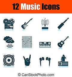 Set of Music Icons