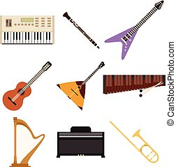 Set of music icons2