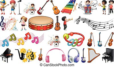Set of musical objects