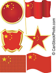 set of national subjects China
