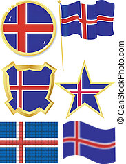 set of national subjects Iceland