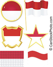 set of national subjects Indonesia