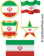 set of national subjects Iran