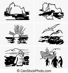 North sea - Set of North sea pictures