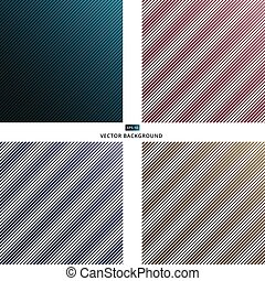 set of Oblique lines seamless dark blue red brown texture striped background background