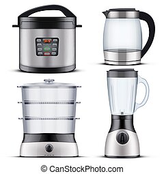 Domestic Kitchen appliances - Set of Original Electric ...