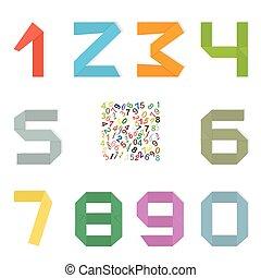Set of original mathematical figure