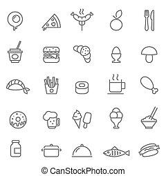 Food icon Vector illustration