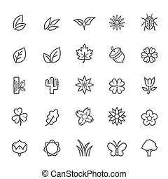 Outline Stroke Natural Icon