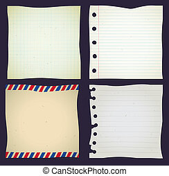 set of paper