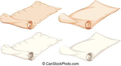 Set of paper roll
