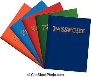 Set of passports