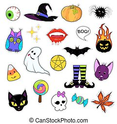 Set of patches for Halloween