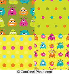 Set of patterns with monsters