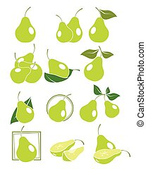 Set of pears