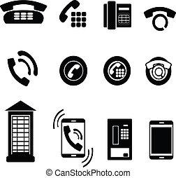 phone icons