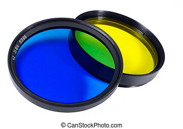 Set of photofilters for a creative photo