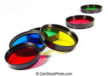 creative photo - Set of photofilters for a creative photo