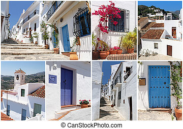 set of photos from Frigiliana, Andalusia, Spain