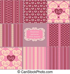 Set-of-pink-vintage-patterns.eps