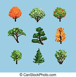 Set of Pixel Trees