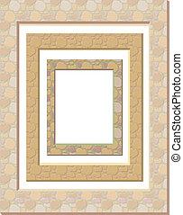 set of plaster frames
