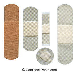 Set of plasters