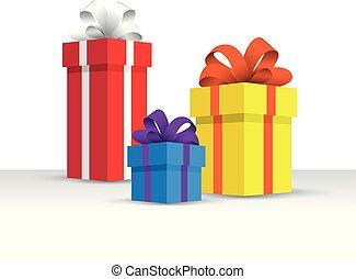 Set of presents