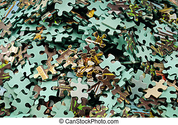 set of puzzle - Game for development of abstract thinking