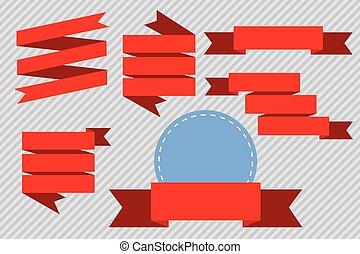 set of Red Ribbon