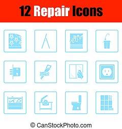 Set of repair icons