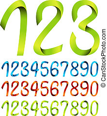 Set of ribbon numbers