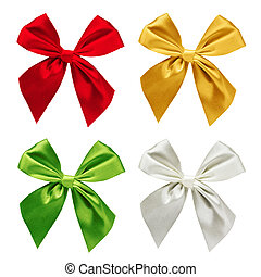 Set of ribbons isolated