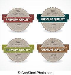 Set of sale badges