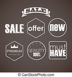 set of sale labels