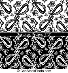 set of seamless pattern