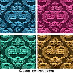 Set of seamless patterns 10
