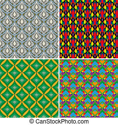Set of seamless patterns 5