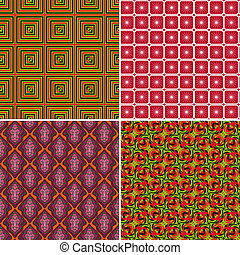 Set of seamless patterns 9