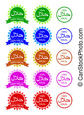 sign halal