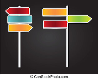 set of signs
