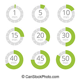 Set of simple timers.