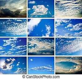set of sky