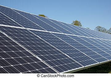Set of solar panels