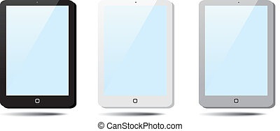 Set of speech bubbles Tablet Pad, Ipad.