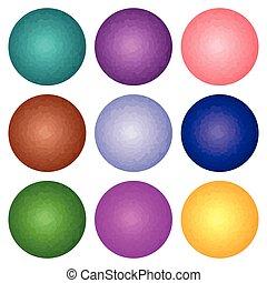 set of spheres